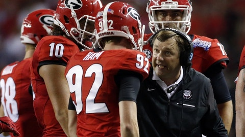 Georgia will go from 3-0, to 3-2 in two weeks