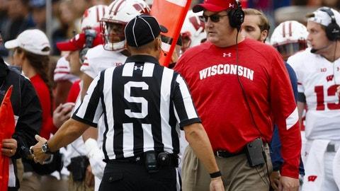 Washington losing and Wisconsin winning the Big Ten