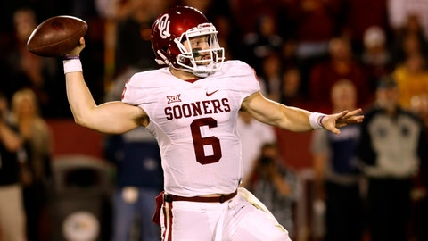 Baker Mayfield, QB, Oklahoma (361 votes)