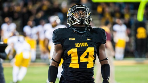 2. Desmond King, CB, Iowa