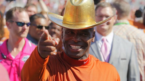 Texas did beat Oklahoma, though