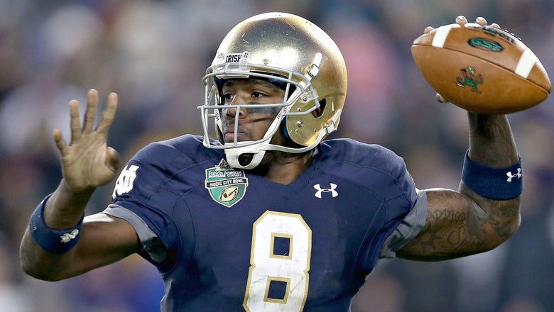 Former Notre Dame QB Malik Zaire transferring to Florida