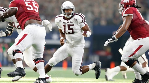 NCAA Football: Texas AM vs Arkansas