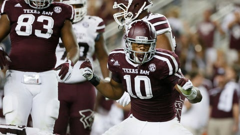 NCAA Football: Mississippi State at Texas AM