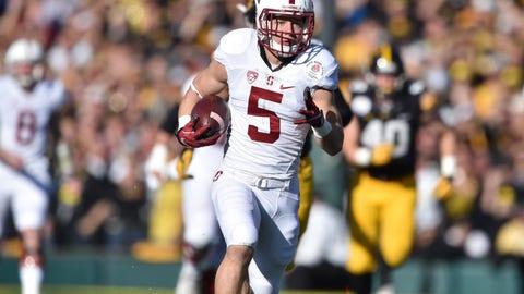 Christian McCaffrey, RB/WR/KR/PR, Stanford (vs. Kansas State, Friday, 9 p.m. ET, FS1)