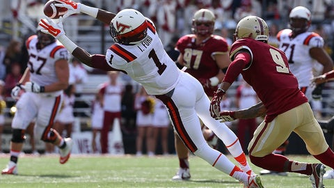 Isaiah Ford - WR - Virginia Tech