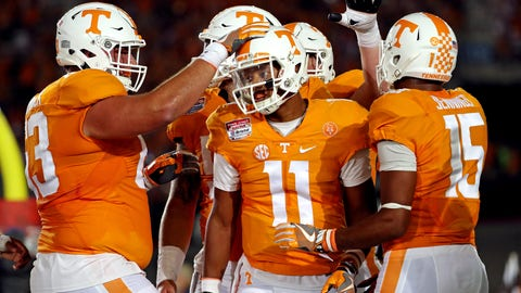 Florida (+6.5) at Tennessee
