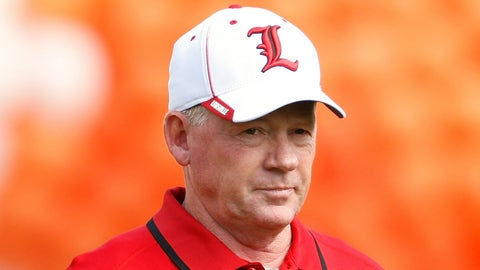 Bobby Petrino - Louisville head coach