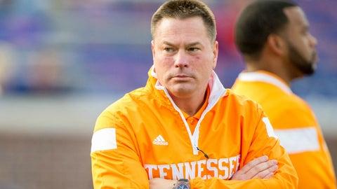 Butch Jones, Tennessee head coach (hot seat)