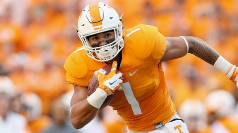 Former Tennessee RB Jalen Hurd apparently will transfer to Baylor