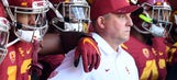 Clay Helton proved USC's doubters wrong and spoiled the College Football Playoff race
