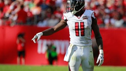Julio Jones, WR, Falcons (ankle)