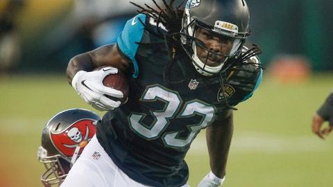 Chris Ivory, RB -- Jacksonville Jaguars