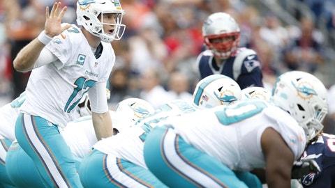 Week 17: Patriots at Dolphins, Jan. 1