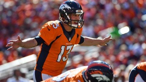 Trevor Siemian, QB, Broncos (foot): Active