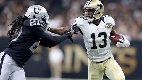Michael Thomas, WR, Saints (NA last week)