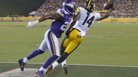 September 17: Minnesota Vikings at Pittsburgh Steelers, 1 p.m. ET