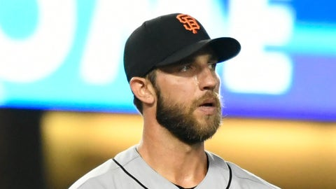 TOP TIER: Madison Bumgarner and Johnny Cueto, SF (@ LAD, @ SD)