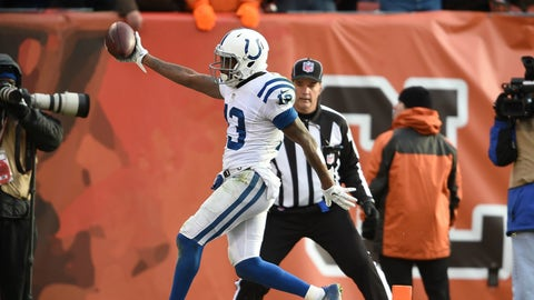 WRs: Indianapolis Colts