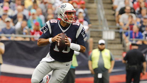 Jimmy G's monster first half and injury scare