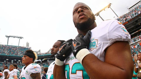 Defensive tackle: Ndamukong Suh, Dolphins ($19,062,500)