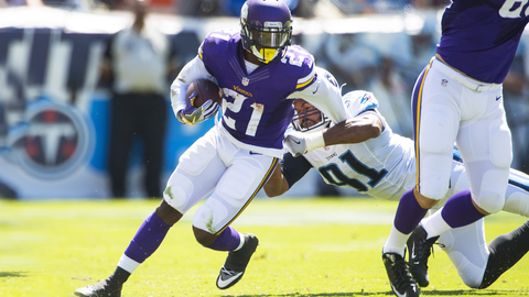 Jerick McKinnon is ready to step up for Vikes