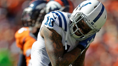 Donte Moncrief (fractured scapula)