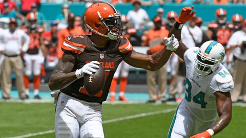 WR Terrelle Pryor Sr., Browns ($4,300)