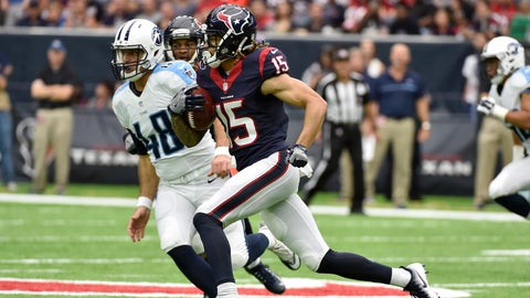 Will Fuller, WR, Texans (hamstring): Questionable