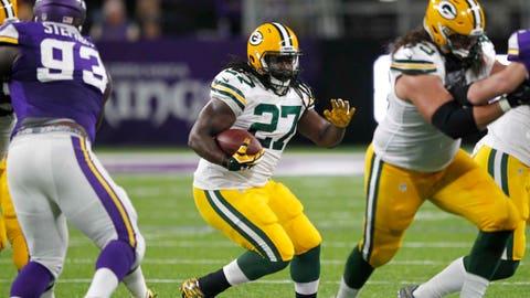 Eddie Lacy, RB, Packers (ankle)