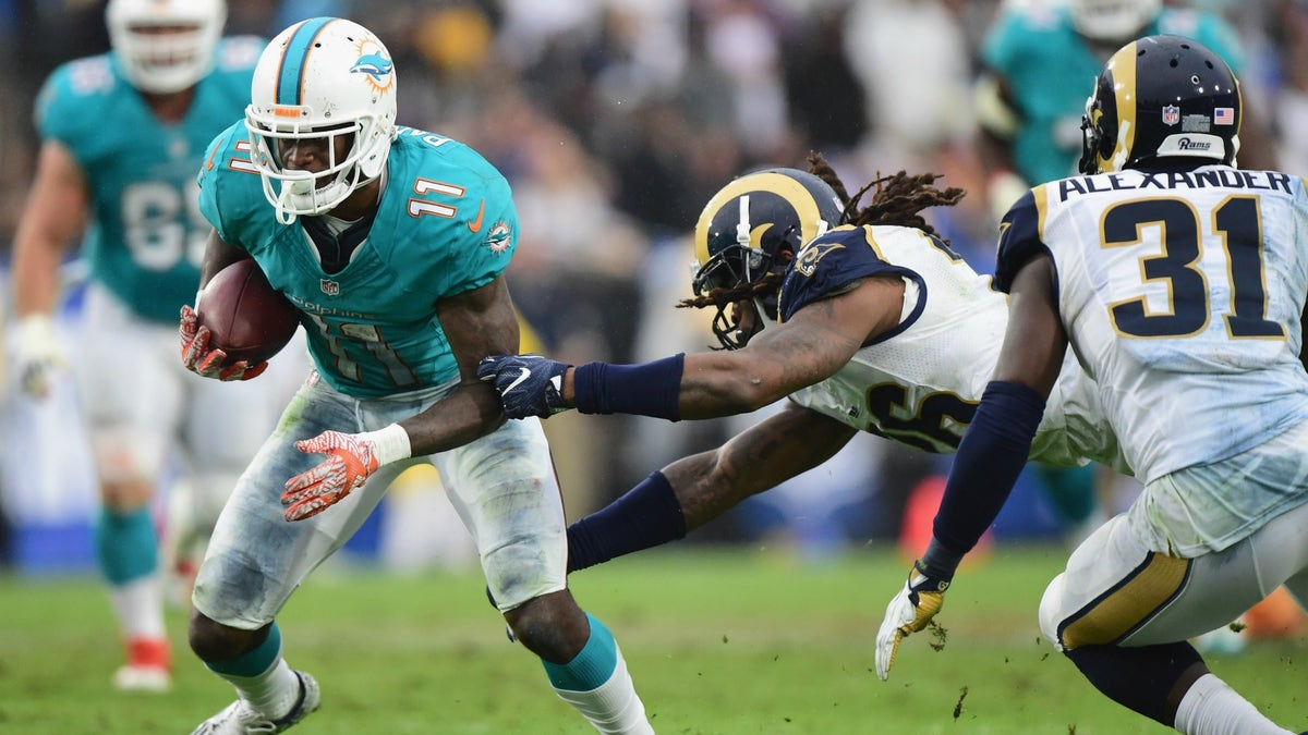 DeVante Parker, Carson Palmer and Rashad Jennings highlight this week's recommendations
