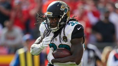 Chris Ivory, RB, Jaguars (hamstring): Out