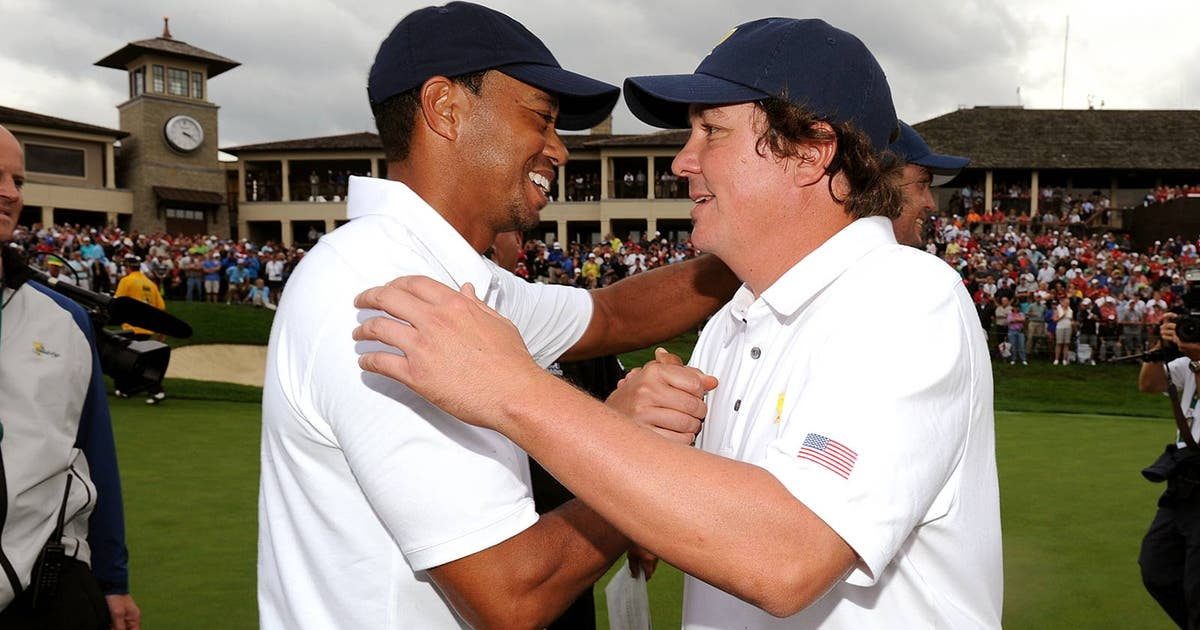 Tiger Woods Really Has Gotten In Jason Dufner S Head Fox