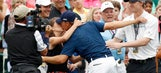 Spieth's circle of friends, family keeps his feet on the ground