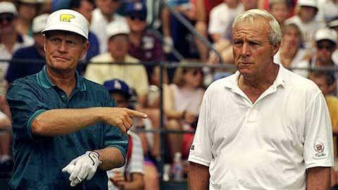 Golf: Nicklaus vs. Palmer