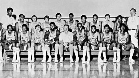 Los Angeles Lakers, 33 wins, 1971-72