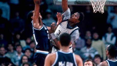 Villanova upsets Georgetown in 1985 national title game