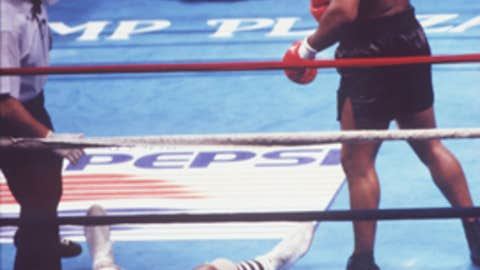 Michael Spinks, 1988 heavyweight title fight