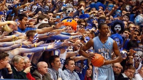 College basketball: Duke vs. North Carolina