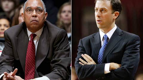Minnesota: Tubby Smith (left) out; Rich Pitino in