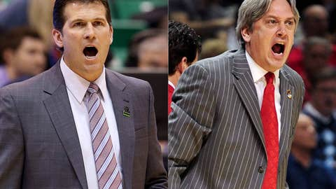 New Mexico: Steve Alford (left) out; Craig Neal in