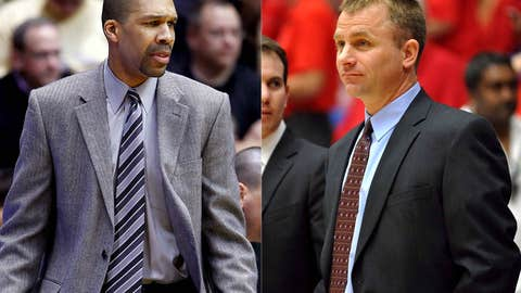 Ball State: Billy Taylor (left) out; James Whitford in
