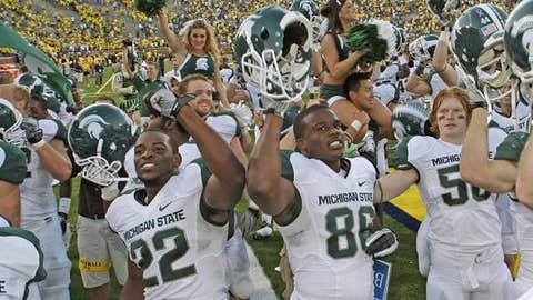 Michigan State at Iowa, Oct. 30