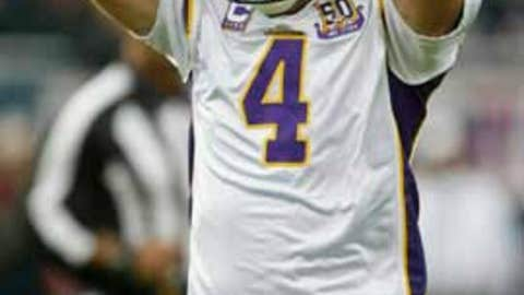 Brett Favre's unhappy return