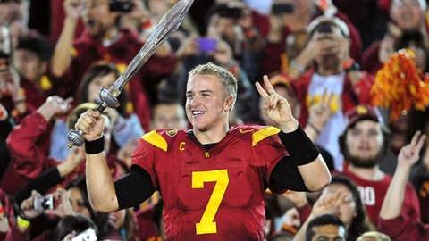 QB Matt Barkley, USC