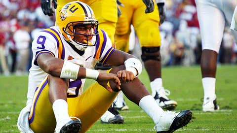 LSU really doesn't have a passing game