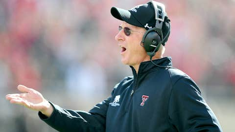 Tommy Tuberville, Texas Tech, third season (13-12)