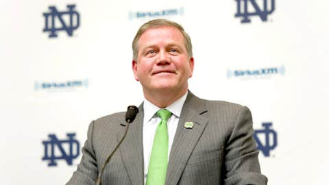 Brian Kelly, Notre Dame, third season (16-10)
