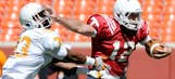 Best action from college football spring games