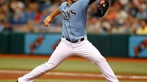 Stud: James Shields, SP, Tampa Bay